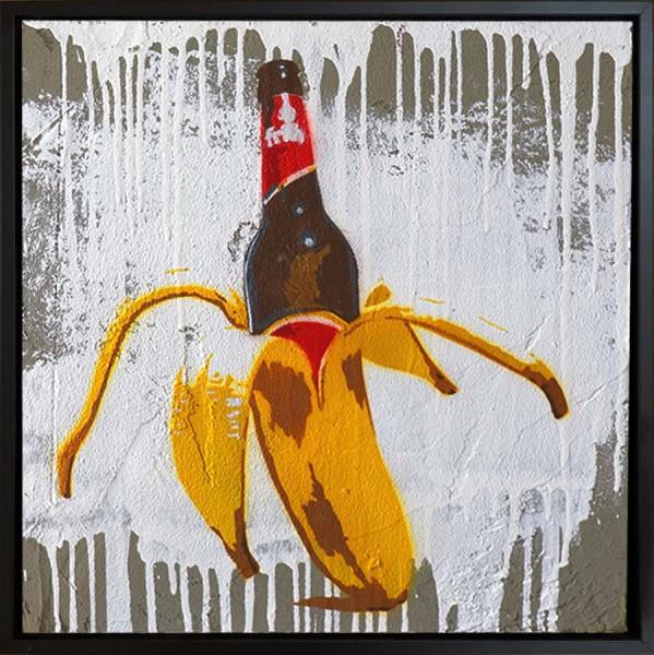 Mobile Graffiti - Kölner Bier-Banane