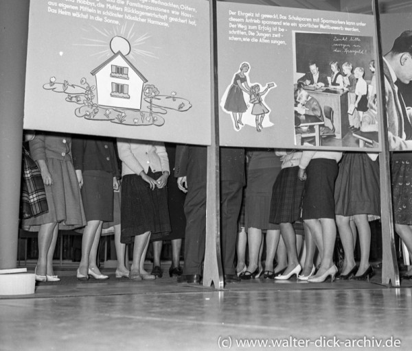 Stadtsparkasse Köln-Förderung des Spargedankens 1963