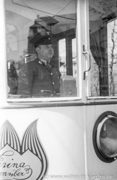 Straßenbahnfahrer 1935