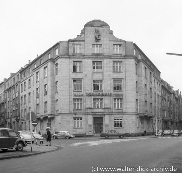 Eckhaus am Stadtgarten 1965