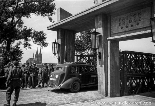 Eröffnung der Pattonbrücke