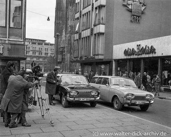 Werbefilm für das neue Kölner Ford Modell (P 3)