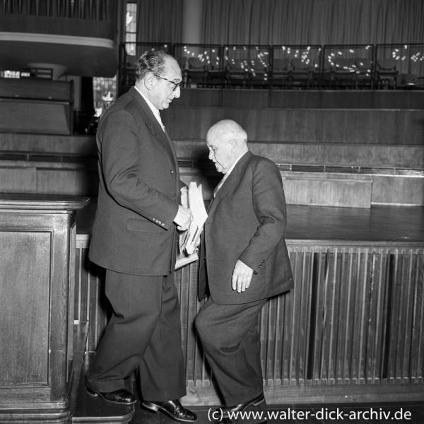 Dr. Ernst Schwering Köln 1961