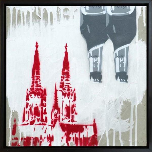 Mobile Graffiti - Kölsch-Dom