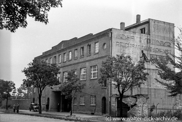 Ruinierte Müllabfuhr 1947