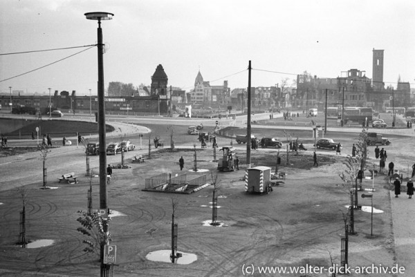 Der Heumarkt 1950
