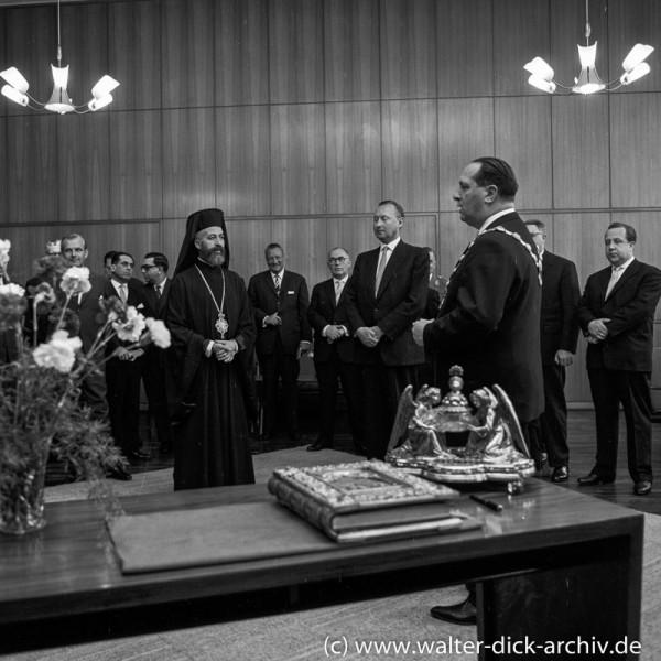 Erzbischof Makarios in Köln